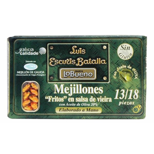 Lo Bueno Mejillones Muscheln in galizischer Sauce 80g/120g