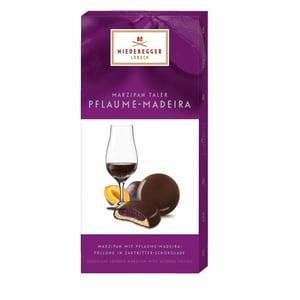 Niederegger - Marzipan Taler Pflaume-Madeira Pralinen alkoholisch - 100g