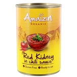 Amaizin Bio Red Kidney Bohnen in Chilisauce 400g