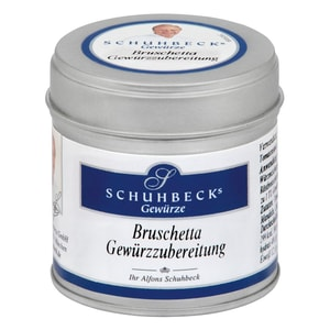 Schuhbecks Bruschetta Gewürzzubereitung 55g