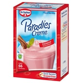 Dr.Oetker Paradiescreme Erdbeer ohne Kochen Dessert 1kg