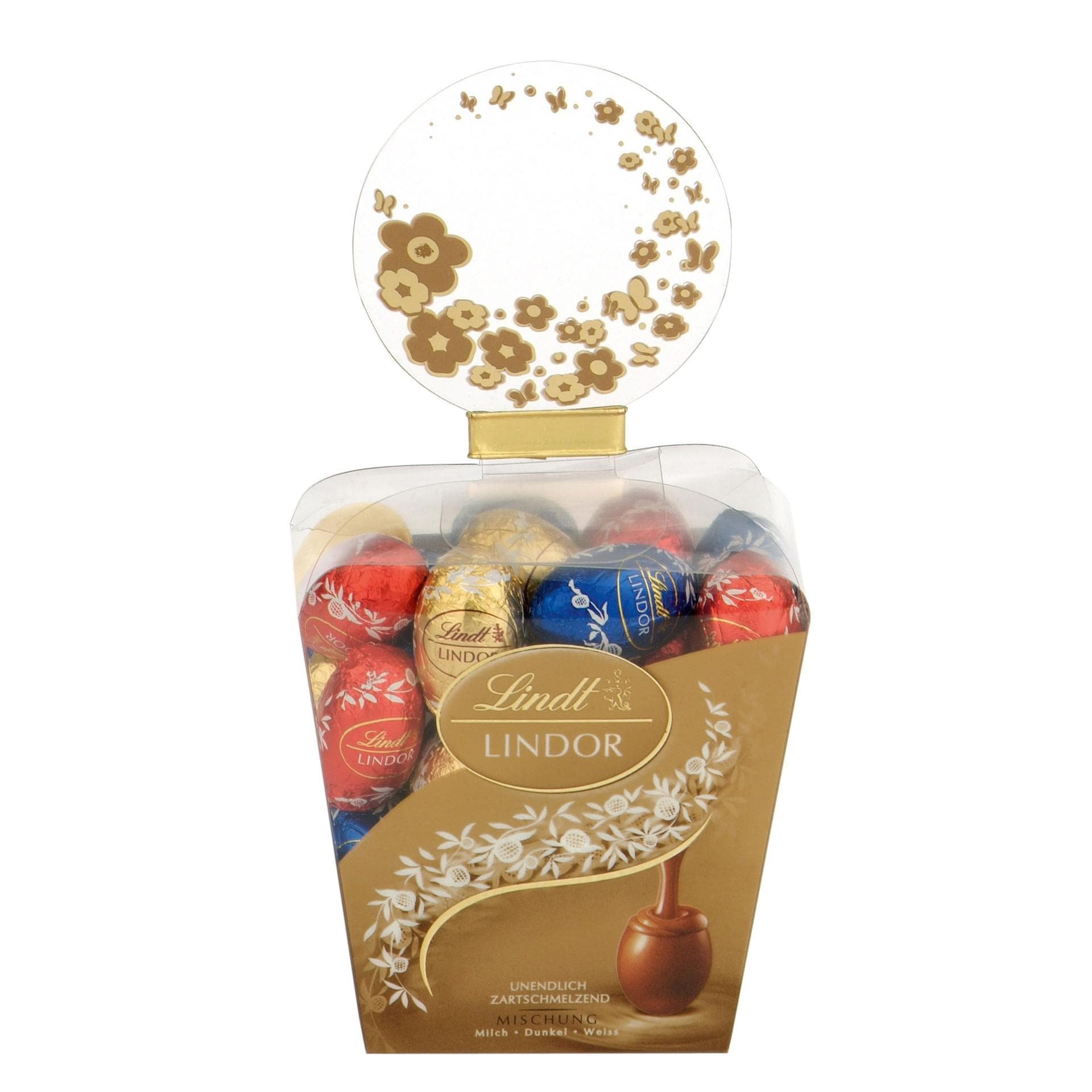 Lindt Lindor-Mini-Eier Schokoladenmischung 150g
