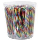 Candy Canes - Zuckerstangen Regenbogen - 50St/700g