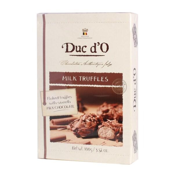 Duc d'O - Milk Truffles Borkentrüffel Vollmilch Pralinen - 100g