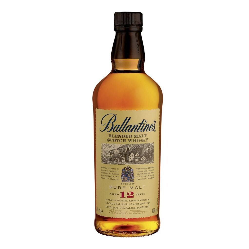 Ballantine's Blended Malt Scotch Whisky 12 Jahre 0,7l