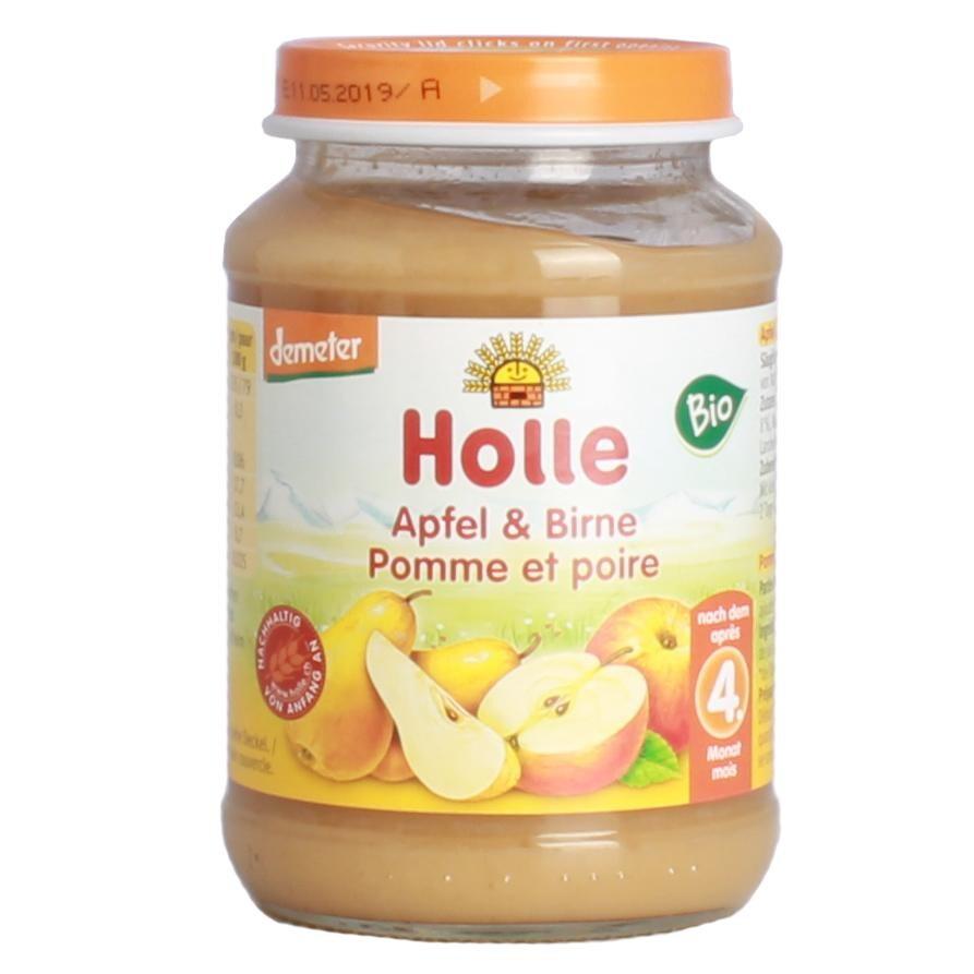 Holle Apfel und Birne Bio Babynahrung 190g