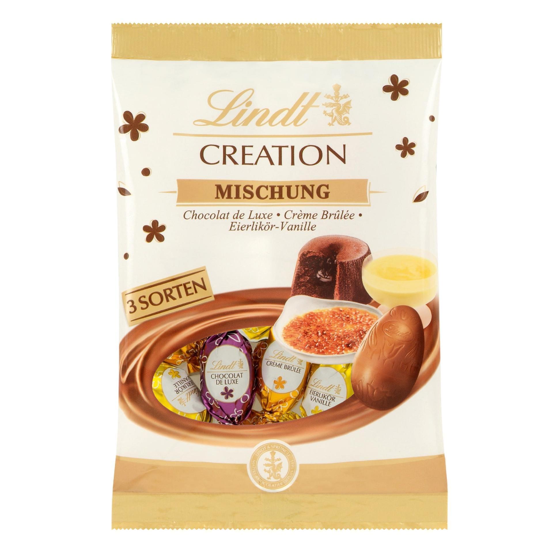 Lindt Creation Mischung Schokoladeneier 144g