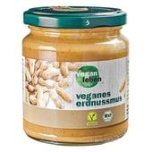 vegan leben Bio Erdnussmus vegan 250g