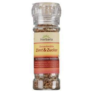 Herbaria Bio Zimt und Zucker Dessertmühle Mischung 70g