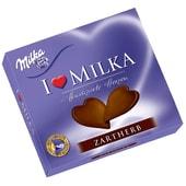 Milka Hauchzarte Herzen Zartherb Schokolade 130g