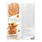 Schnitzer Bio Baguette Grainy Glutenfrei Brot Brötchen aufbacken 320g, 2x160g