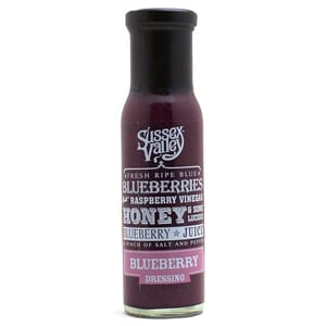 Sussex Valley - Blueberry Dressing Süßes Dressing - 240g
