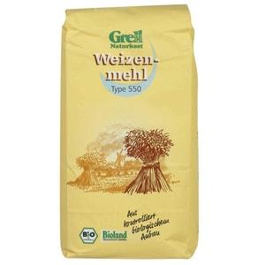 Grell Bio Weizenmehl Type 550 1kg