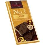 Sarotti - No.1 Edelbitter mit Orange - Schokolade - 100g