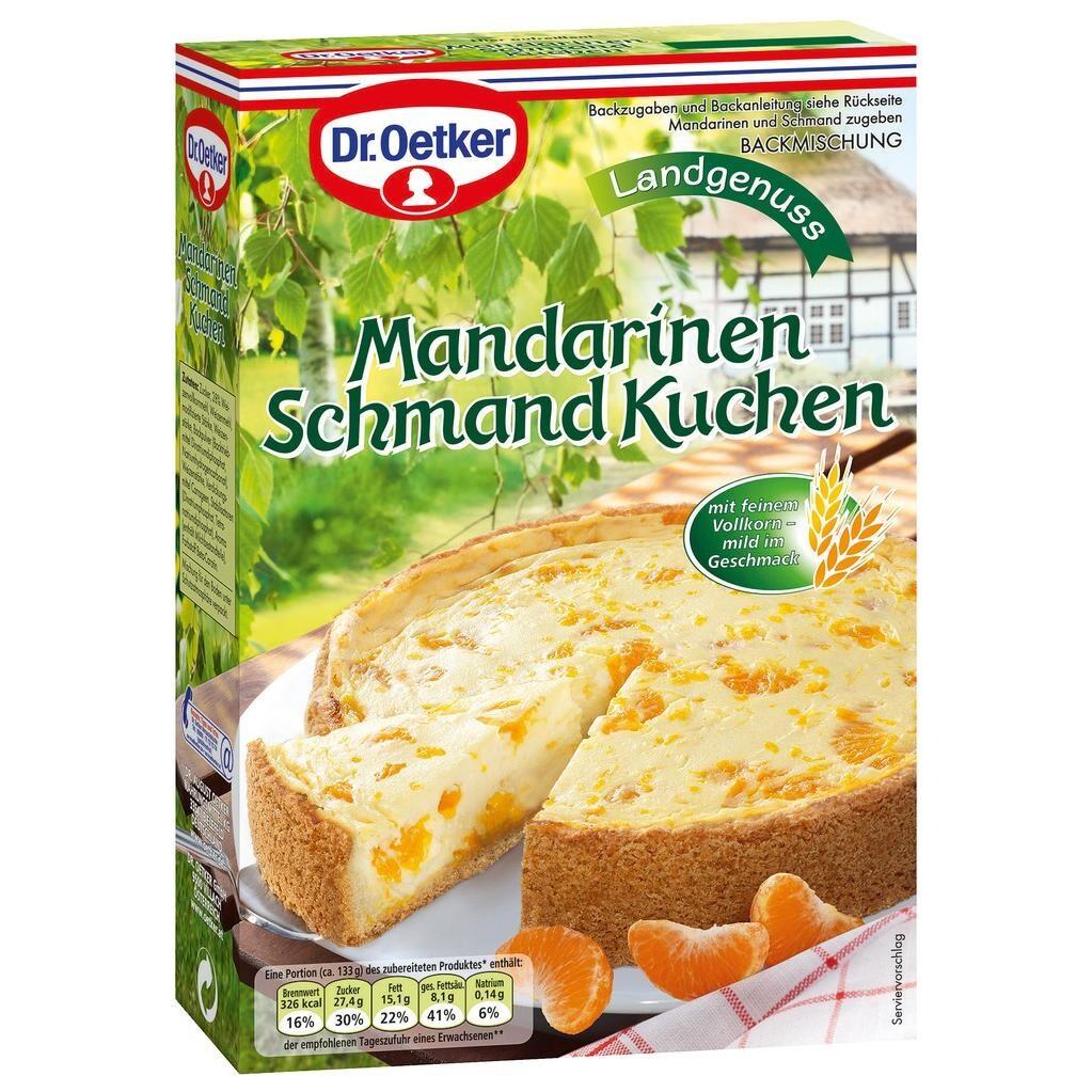 Dr Oetker Landgenuss Mandarinen Schmand Kuchen 460g Bei Rewe