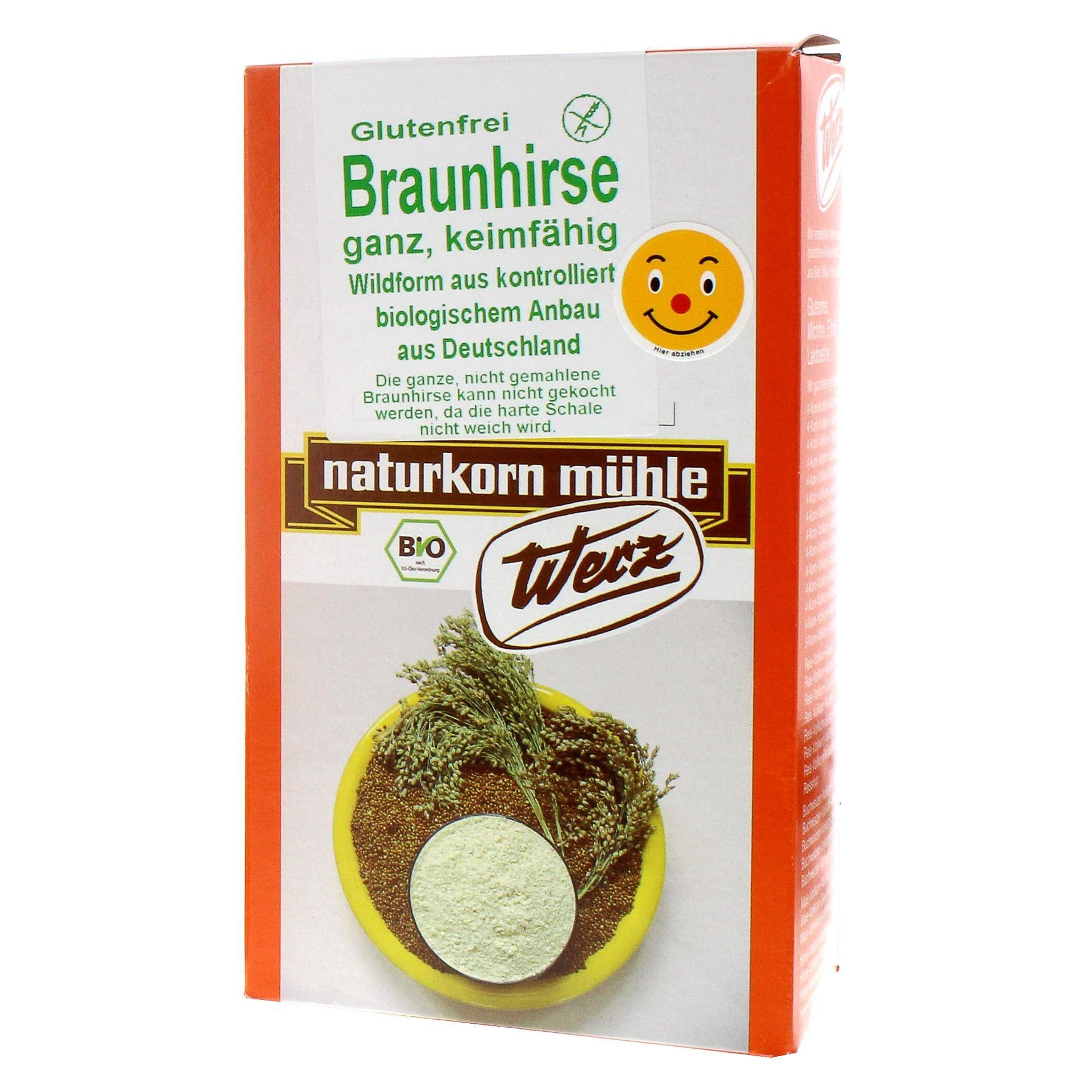 Werz Bio Braunhirse ganz 500g