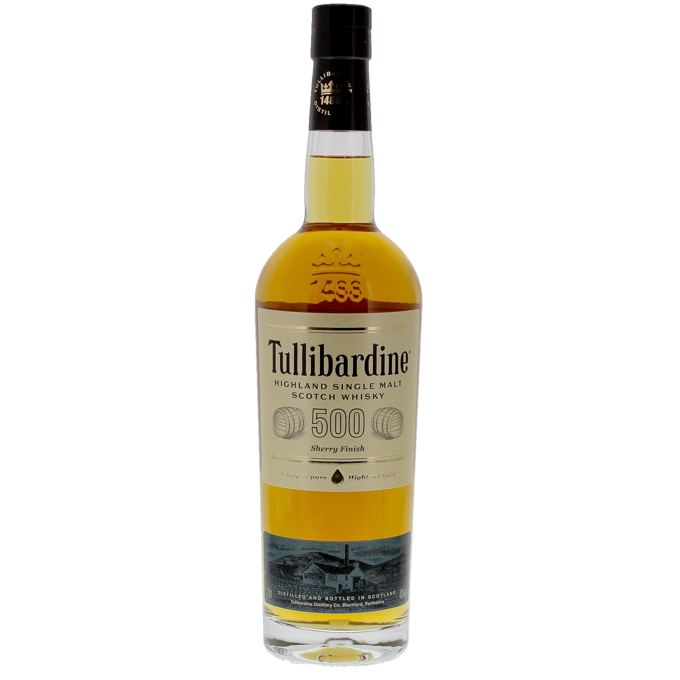 Tullibardine Single Malt Scotch Whisky 500 Sherry Finish 0,7l