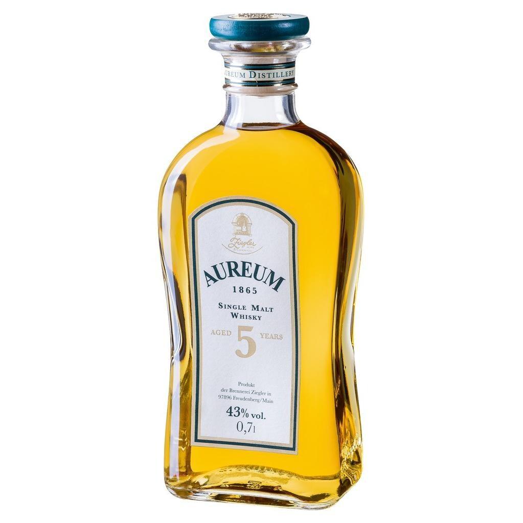 Ziegler Aureum Single Malt Whisky 5 Jahre 43% vol 0,7l