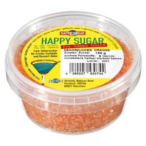 Happy Sugar Dekorzucker Orange 150g