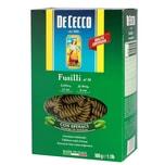 De Cecco - Fusilli n° 34 con spinaci Spinatnudeln Nudeln grüne Pasta - 500g