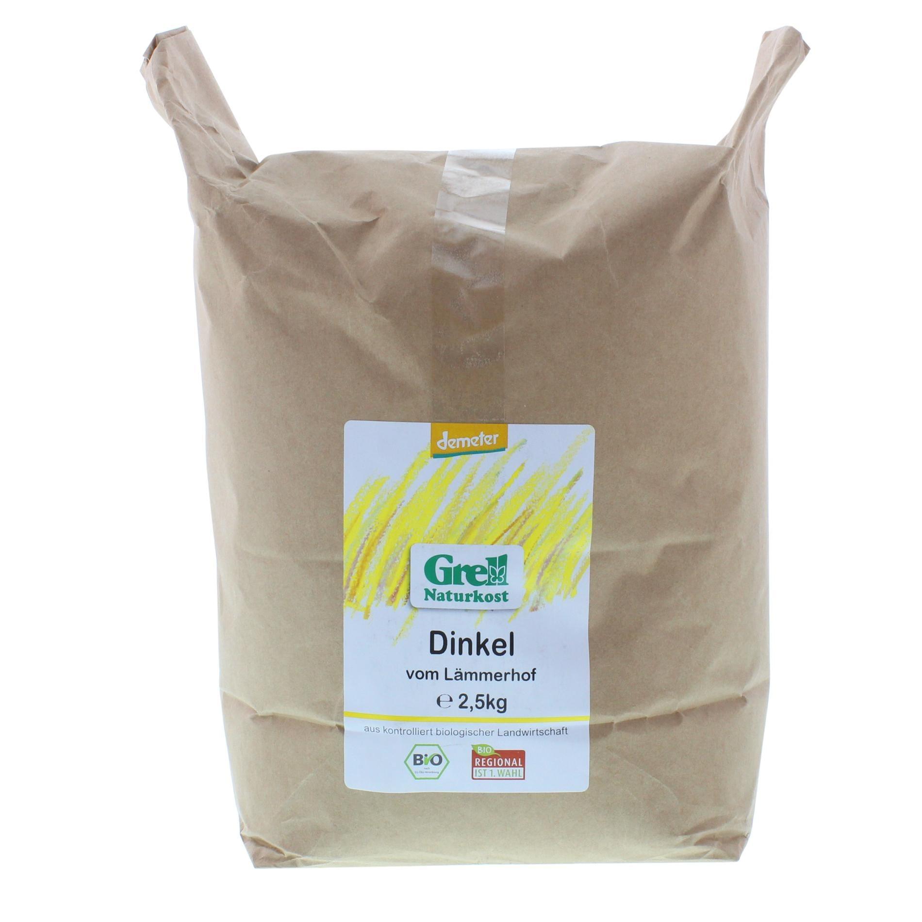 Grell Bio Dinkel vom Lämmerhof 2,5kg