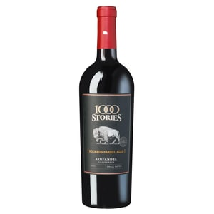 1000 Stories Bourbon Aged Zinfandel California Rotwein 14,5% 0,75l