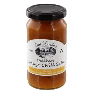 Gut Lindau - Mango Chili Salsa Dip Sauce scharf fruchtig - 200ml