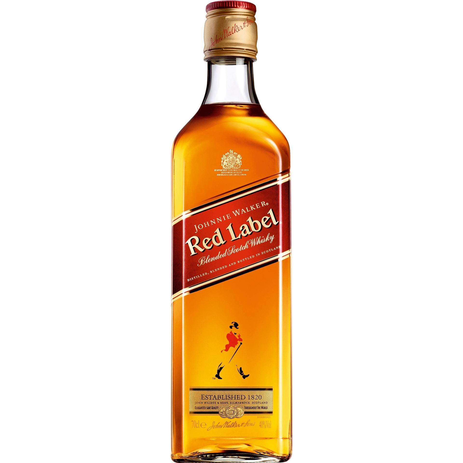 Johnnie Walker Red Label Blended Scotch Whisky 0,7l