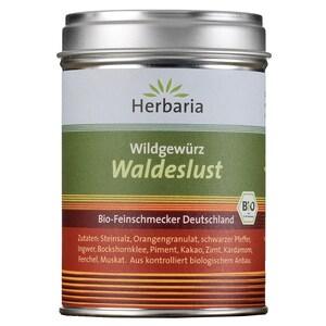 Herbaria Bio Waldeslust Wildgewürz für Pilz- und Wildgerichte 120g