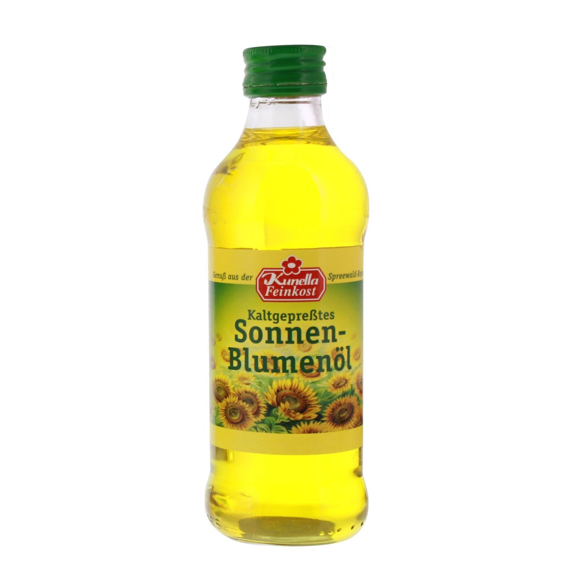 Kunella Feinkost - kaltgepresstes Sonnenblumenöl - 250ml