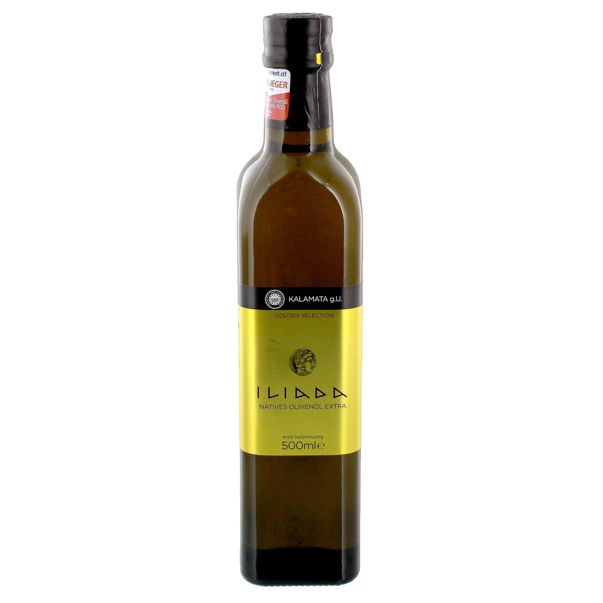 Iliada - Natives Olivenöl Extra Kalamata g.U. - 500ml