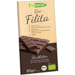 Frusano Bio-Filita Zartbitter Tafelschokolade 85g