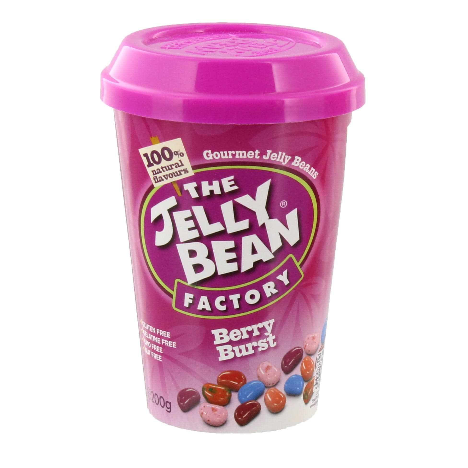 The Jelly Bean Factory - Berry Burst Geleebohnen - 200g