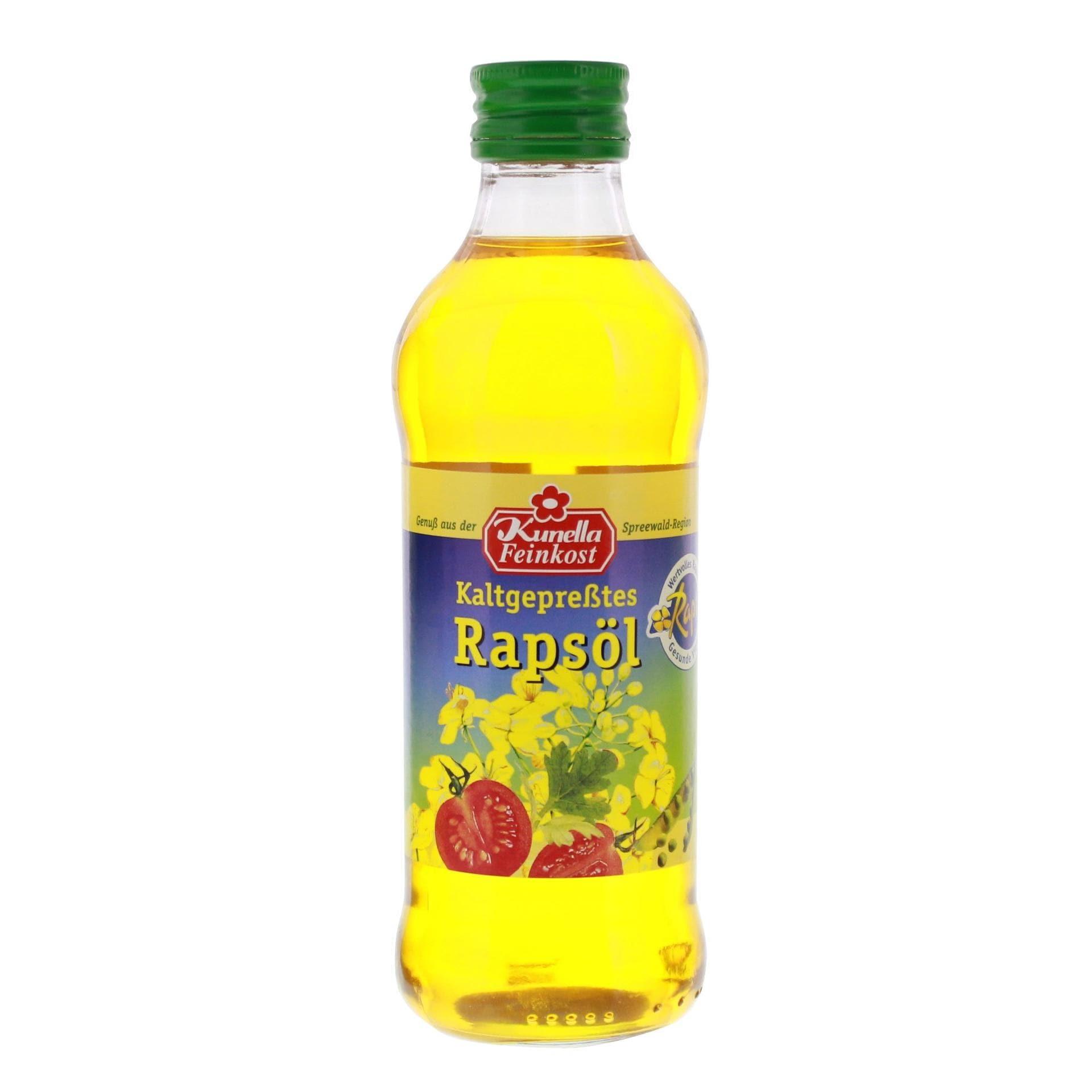Kunella Feinkost - kaltgepresstes Rapsöl - 250ml
