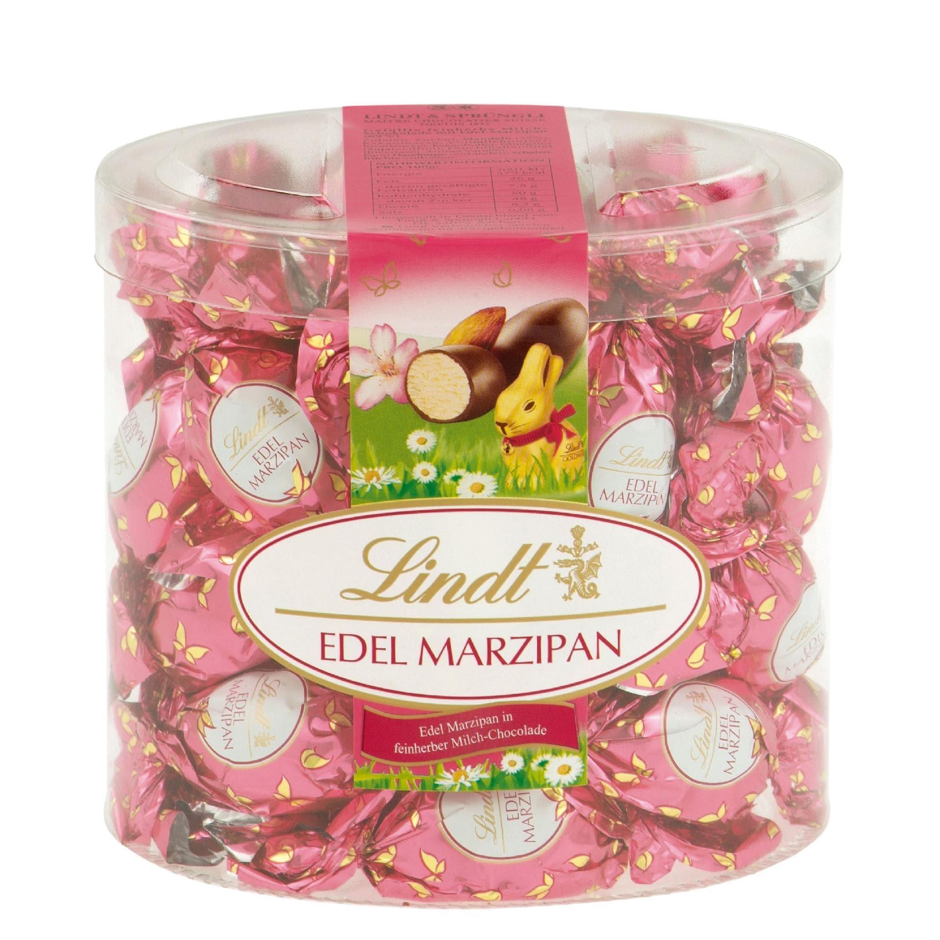 Lindt Edel Marzipan Milch-Schokoladen-Eier 425g, 25 Stück