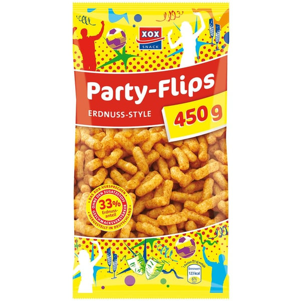 XOX Partyflips Chips 450g