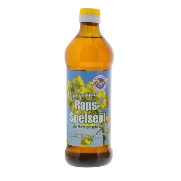 Rapsöl Raps-Speiseöl aus Norddeutschland 0,5l