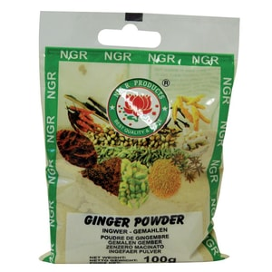 NGR Products - Ingwer gemahlen Ingwerpulver - 100g