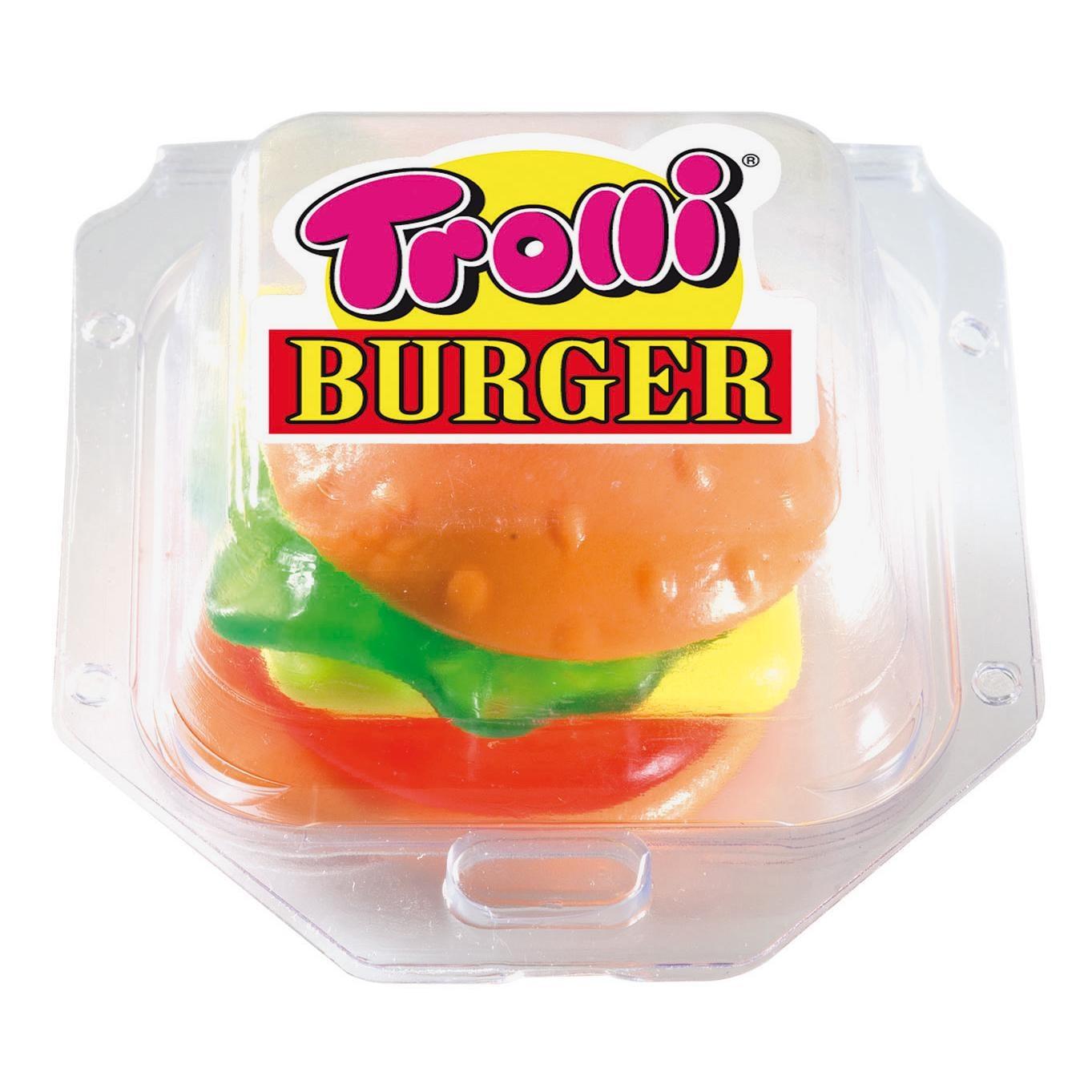 Trolli - Gummi-Burger - Fruchtgummi - 50g