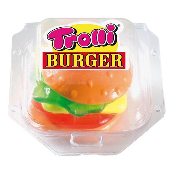 Trolli Gummi-Burger Fruchtgummi 50g