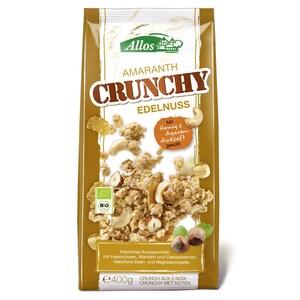 Allos Bio Amaranth Crunchy Edelnuss Müsli 400g