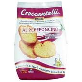 Croccantelli gebackene Weißbrotscheiben mit Peperoni 150g