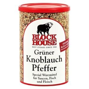 Block House Grüner Knoblauch Pfeffer Spezial Würzmittel 200g