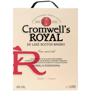 Cromwell's Royal schottischer Whisky 3l