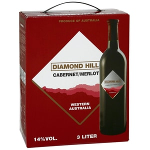 Diamond Hill Cabernet Merlot Rotwein 14% BaginBox 3,0l