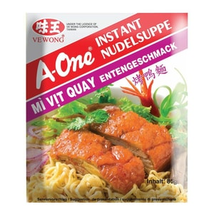 A-One - Instantnudelsuppe Ente - 85g