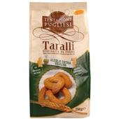 Tentazioni Pugliesi Taralli mit Olivenöl Knabbergebäck 250g