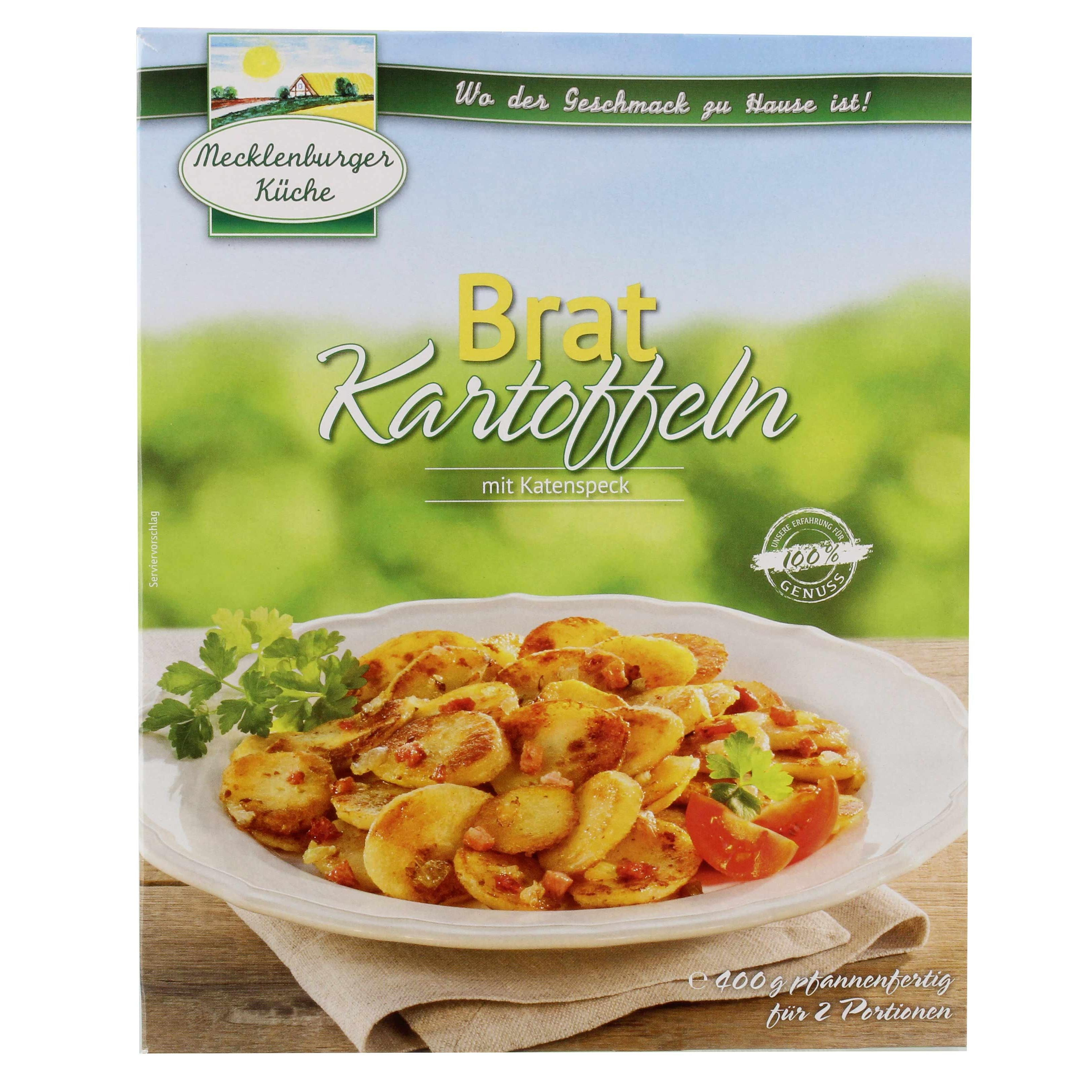 Mecklenburger - Bratkartoffeln mit Katenspeck Fertiggericht - 400g
