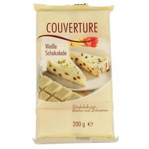 Karina - Kuvertüre weiße Schokolade - 200g