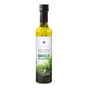 A L'Olivier - Olivenöl mit Basilikum - 250ml
